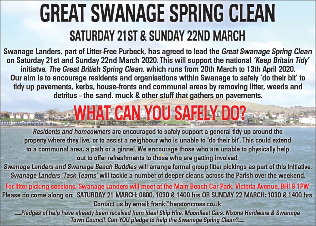 Swanage Army Link Spring Clean 20