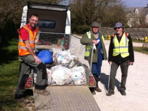 Love Langton & The National Trust doing their bit for the Great British Spring Clean 2016.
