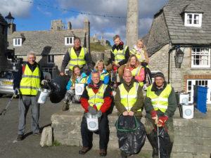 Clean Up Corfe 6th November 2016.