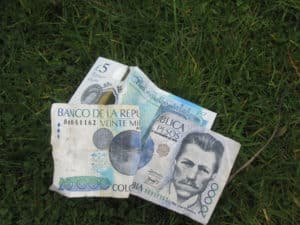 Sometimes, but not very often, we find money!