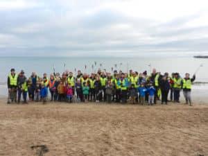 Swanage Beach Buddies 28th January 2018.