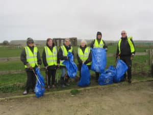 The Great British Spring Clean - Worth Village February 2017