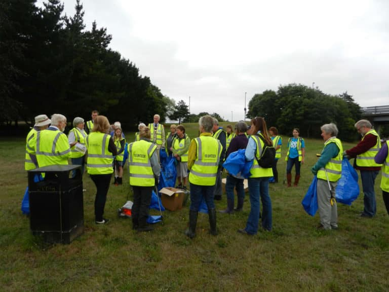 Wareham Wombles' safety briefing 1st July 2017.