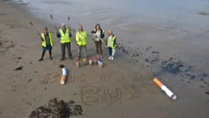 Bin Your Butts - Blitz The Butts Swanage 18th May 2019