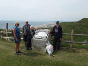 Harman's Cross About Litter on a day out to Portland 16th May 2019