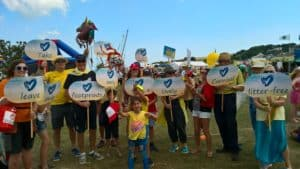 Swanage Carnival Procession Sunday 28th July 2019